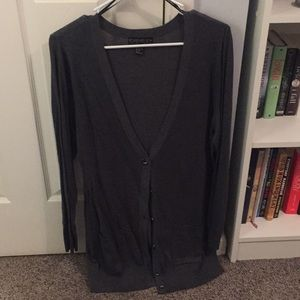 Dark grey like new forever21+ cardigan
